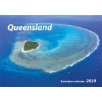 Queensland 2020 Wall Calendar (Min Order Qty 5)