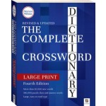 Complete Crossword Dictionary Large Print Edition #4 (Min Order Qty 1)