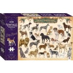 ***Coming August 2021*** 1000 Piece Vintage Puzzle: Dog Breeds (Min Order Qty 1)