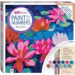Paint by Numbers Canvas: Waterlilies 21 x 21cm (Min Order Qty 1)