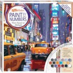 Paint by Numbers Canvas: Times Square at Midnight 31x31cm (Min Order Qty 1)
