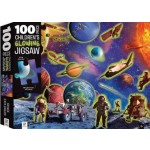 Children's Jigsaw Puzzles 100 Piece - Space Adventure