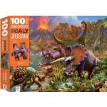 Children's Jigsaw Puzzles 100 Piece - Dinosaur Island