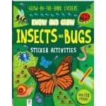 Know & Glow Sticker Activity book - Insects and Bugs