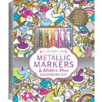 Kaleidoscope Colouring Metallic Markers & Glitter Pens Colouring Kit (Min Order Qty 2)