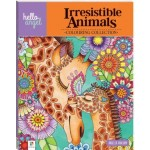 Hello Angel Colouring Collection Irresistible Animals