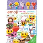 Emoji 5-Pencil Drawing, Colouring and Activity Set