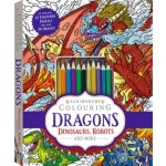 Kaleidoscope Colouring Kit Dragons, Dinosaurs, Robota and more... (Min Order Qty 2)