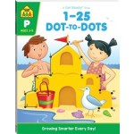 School Zone Get Ready Workbook 1-25 Dot-to-dot 2019 Ed (Min Order Qty 2)
