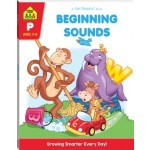 School Zone Get Ready Workbook Beginning Sounds Ages 3-5 (Min Order Qty 2)