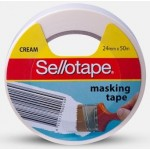 Sellotape Masking Tape 24mm x 50m (Min Order Qty 9)