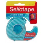 Sellotape Double Sided Tape 18mm x 15m Dispenser (Min Order Qty 8)