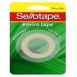 Sellotape Enviro Tape - 12mm x 25m (Min. Order 12)