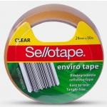 Sellotape Enviro Tape - 24mm x 50m  (Min Order Qty 6)