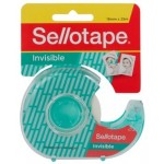 Sellotape Invisible 18mm x 25m Tape Dispenser (Min order Qty 8)