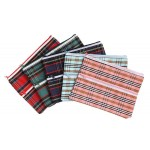 Marbig  Tartan Pencil Case Jumbo (Min Order Qty 5)