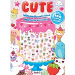 Cute! Activity and Puffy Sticker Book (Min Order Qty 2)