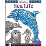 Tangle Easy: Sea Life Colouring Book (Min Order Qty 4)