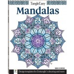 Tangle Easy: Mandalas Colouring Book (Min Order Qty 4)