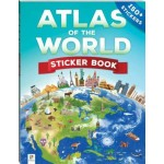 Atlas of the World Sticker Book (Min Order Qty 3)