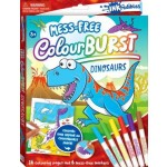 Inkredibles Colour Burst Colouring: Dinosaurs (Min Order Qty 2)