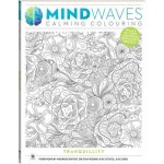 Mindwaves Calming Adult Colouring Tranquillity (Min Order Qty 3)