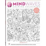 Mindwaves Calming Adult Colouring Serenity (Min Order Qty 3)