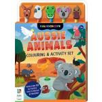 Aussie Animals Colouring & Activity Set (Min Ord Qty 2)
