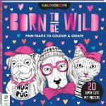 Kaleidoscope Colouring: Born to Be Wild (Min Order Qty 2)