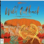 Art Maker: Wild Outback Colouring Book (Min Ord Qty 2)