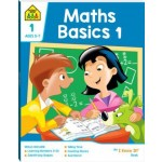 School Zone I Know It Deluxe Workbook 1 Maths Basics 1 (Min Order Qty 2)