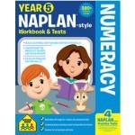 SCHOOL ZONE NAPLAN STYLE WORKBOOKS - YEAR 5 NUMERACY (Min. Order 2)