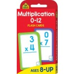 School Zone Flash Cards Multiplication 0-12 (Min Order Qty 2)
