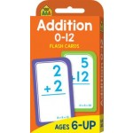 School Zone Flash Cards Addition 0-12 (Min Order Qty 2)