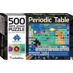 Hinkler Periodic Table 500-piece Jigsaw Puzzle (Min Order Qty 2)