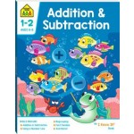 School Zone I Know It Deluxe Workbook 1-2 Addition & Subtraction (Min Order Qty 2)