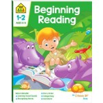 School Zone I Know It Deluxe Workbook 1-2 Beginning Reading (Min Order Qty 2)
