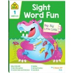 School Zone I Know It Deluxe Workbook 1 Sight Word Fun (Min Order Qty 2)