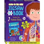 Glow in the Dark Jigsaw and Book Inside the Human Body (Min Order Qty 2)
