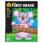 School Zone Giant Workbook First Grade Ages 5-7 (Min order Qty 2)