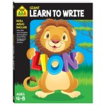 School Zone Giant Workbook Learn to Write Ages 4-8 (Min order Qty 2)