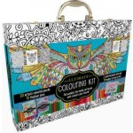 Ultimate Colouring Carry Case: Mandalas and Animals (Min Order Qty 2)