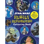 COLOURING BOOKS FAMILY FAVOURITES STAR WARS