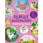 COLOURING BOOKS FAMILY FAVOURITES DISNEY