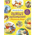 COLOURING BOOKS FAMILY FAVOURITES WINNIE THE POOH