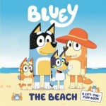 Bluey - The Beach - Lift the Flaps Board Book (Min Order Qty 1)