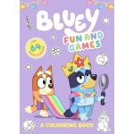 Bluey - Fun and Games Colouring (Min Order Qty 2)