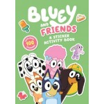 Bluey and Friends: A Sticker Activity Book (Min Order Qty 3)
