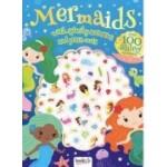 Metallic Puffy Stickers Mermaids (Min Order Qty 2)