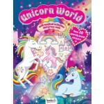 Puffy Sticker Jewel Unicorn World (Min Order Qty 2)